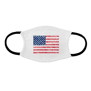 Adult face mask with Flag