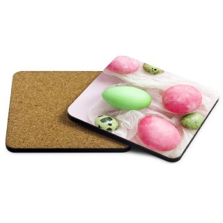 Easter Photo Coaster - Pink buy at Florist