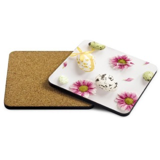 Easter Photo Coaster - Flowers buy at Florist