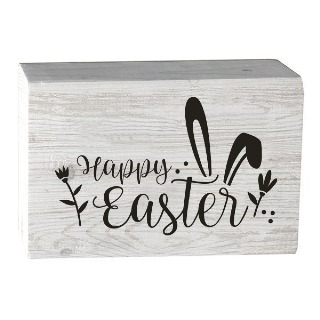 Happy Easter Barn House Wooden Block buy at Florist