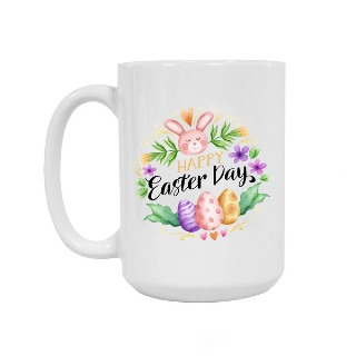 Happy Easter Day Ceramic Mug 15oz buy at Florist