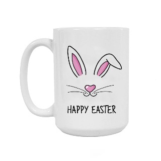 Happy Easter Ceramic Mug 15oz buy at Florist