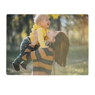 Custom Photo Puzzle for Mom buy at Florist