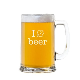 I ☘️  Beer Handled Beer Mug Stein 15oz buy at Florist