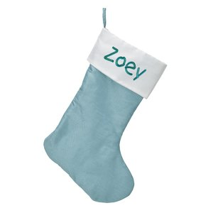 Personalized Christmas Stockings - Ice Blue buy at Florist